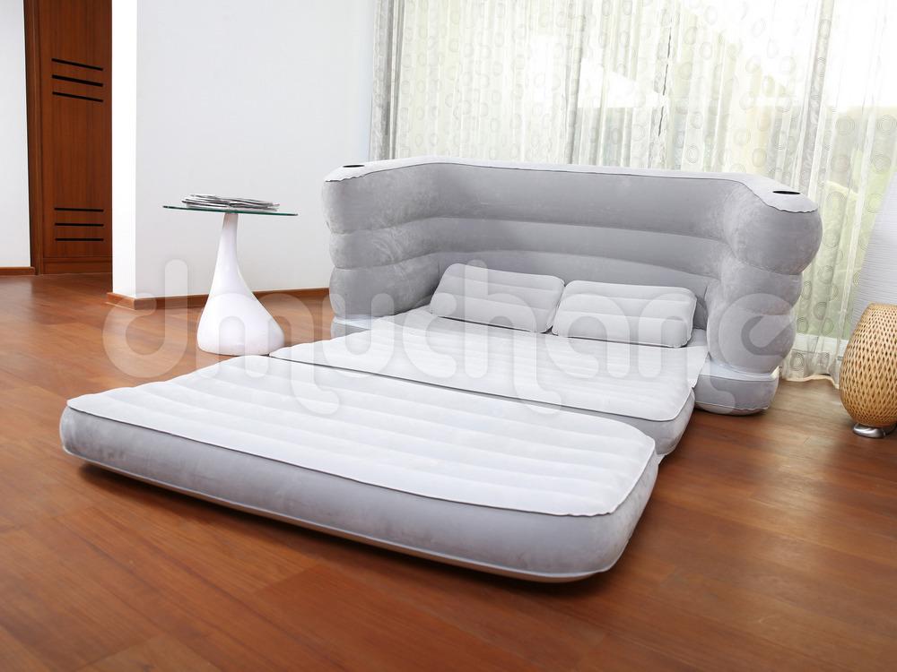 Sofa materac 2w1 rozk adana multi max ii 200 x 160 x 64 cm for Sofa 300 x 200